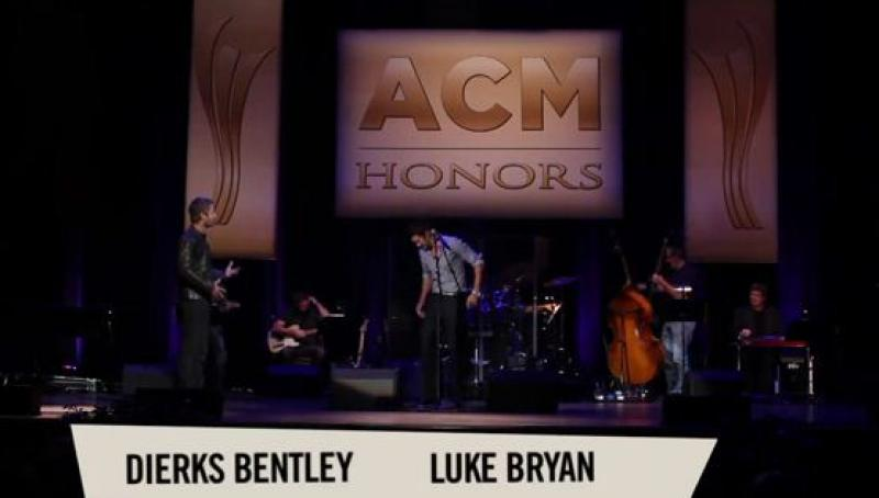 ACM Honors 2012 - Dierks Bentley's Luke Bryan joke
